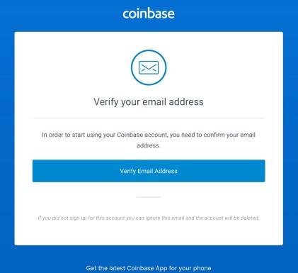 Coinbase - Verify Email2